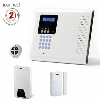 Kit PROMO Iconnect /Secusafe Videoverificación. Central + 1 PIR Cam + 1 Contacto 2 vias + 1 Mando