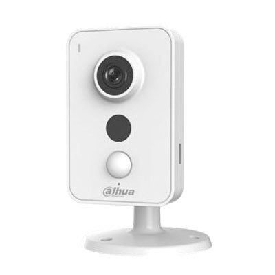 Cubo IP 1.3M DN IR10m 2.8mm Wifi PIR Audio SD E/S