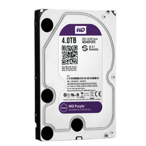 Disco Duro de 4 Tb ( 4048 Gb ) Western Digital Purple