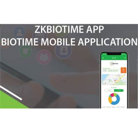 "Licencia del software ""ZK Bio Time APP "" para fichar en el movil. Hasta 5 usuarios"